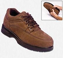 Drew® Traveler Tie Cognac Nubuck Shoe