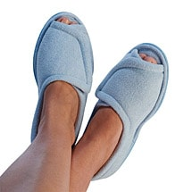 Comfort Slippers Lt. Blue