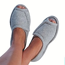 Comfort Slippers Gray