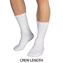Jobst® Sensifoot Mild Support Crew Socks - Unisex Diabetic