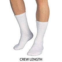 Jobst® Sensifoot Mild Support Crew Socks - Unisex Diabetic (60 Day Autoship Option)