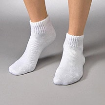 Jobst® Sensifoot™ Non-Constricting Gradient Compression Therapeutic Min-Crew (Low-Cut) Length Sock