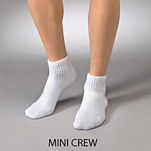Jobst® Sensifoot Mild Support Mini-Crew Socks - Unisex Diabetic (120 Day Autoship Option)