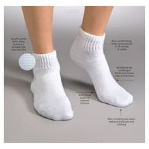 Jobst® Sensifoot Mild Support Mini-Crew Socks - Unisex Diabetic
