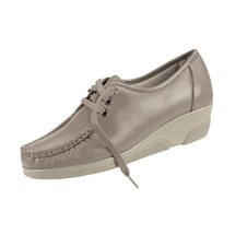 Soft Spots® Annie Hi Wedge - Taupe
