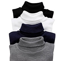 Turtleneck Dickies - 4 pack Navy/Gray/White/Black