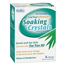 Pedifix Soaking Crystals - 12 packets total