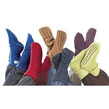 Janska® MocSocks® - Unisex Non Skid Fleece Socks