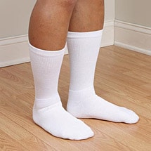 Support Plus™Medical Grade Firm Compression Crew Length