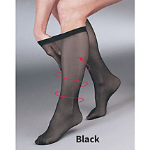 Support Plus™ Sheer Moderate Compression Knee High Stockings