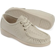 Soft Spots® Bonnie Lite Lace-Ups Bone
