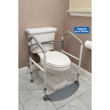 Foldeasy Toilet Safety Frame Removes Easily