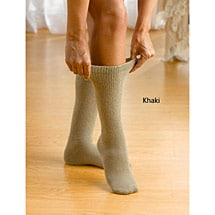 Wide Calf Cotton Diabetic Socks - Unisex (3 Pair Pack)