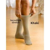 Wide Calf Cotton Diabetic Socks - Unisex (3 Pair Pack)