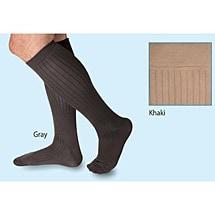 Support Plus™Moderate Support Men's Microfiber Pinstripe Dress Sock