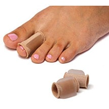 2-Pack Gel Toe Spreaders With Sleeve