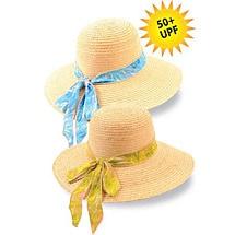 Tulip Raffia Sun Hat