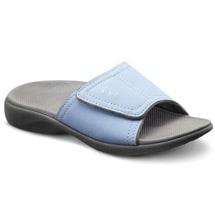 Dr. Comfort® Kelly Ortho Sandals: Light Blue