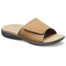 Dr. Comfort® Kelly Ortho Sandals: Camel
