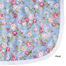 Deluxe Care-For Incontinence Underpad - Absorbent Reusable Protection Patterns