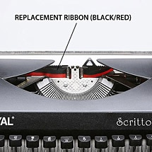 Replacement Ribbon (Black/Red)
