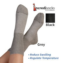 Incredisox Rx - Unisex Diabetic and Neuropathy Socks