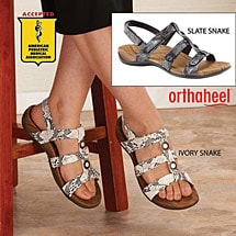 Orthaheel® Yasmin II Adjustable Sandals