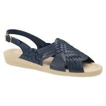 Soft Spots® Tela Open Toe Huarache Sandals