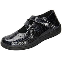 Drew® Orchid Shoes - Black Print