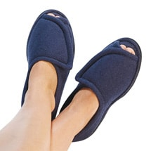 Women's Comfort Slippers Navy