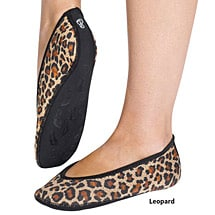 Nufoot Ballet Flats for Women Made of Neoprene with Non-Slip Soles