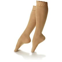 Dr Comfort Shape to Fit™ Lace top Knee Highs Mild