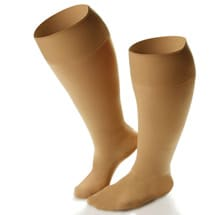 Dr Comfort® Wide Calf Firm Support Knee High Stockings - Women's Extra Roomy