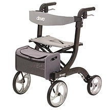 4-Wheel Rollator Black