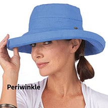 Protective Big Brim Cotton Hat