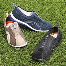 Spring Step® Racer Zip Front Casual Shoes