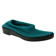 Spring Step® Tender Stretch Knit Slip On Shoes - Teal