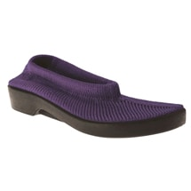 Spring Step® Tender Stretch Knit Slip On Shoes - Purple