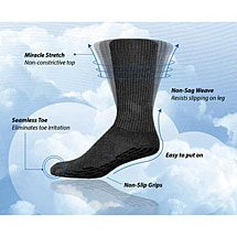 Simcan® SureSteps™ - Unisex Anti Slip Grip Socks