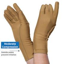 Isotoner Compression Gloves, full finger