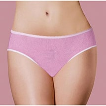Disposable Panties with Built in Pad - Women's Incontinence Underwear (3 Pack)
