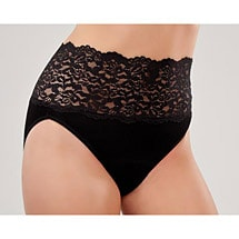 Knock Out! Women's Lace Light Incontinence Panty