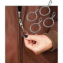 Set of 18 Easy-On Zipper Pulls