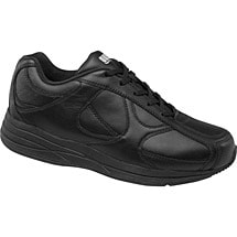 Drew® Surge Shoes for Men - Black Leather