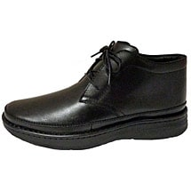 Drew® Keith Ankle Boot for Men - Black