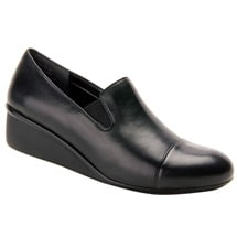 Ros Hommerson® Ellis Wedge Slip-On Dress Shoes - Black