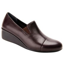 Ros Hommerson® Ellis Wedge Slip-On Dress Shoes - Brown