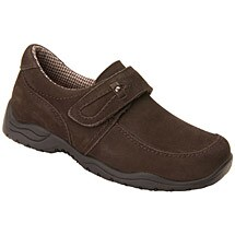 Drew®  Antwerp Women's Slip-On Shoes-Brown Nubuck