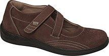 Drew® Orchid Shoes - Brown Nubuck