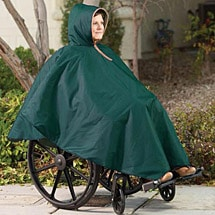 Unlined Wheelchair Poncho